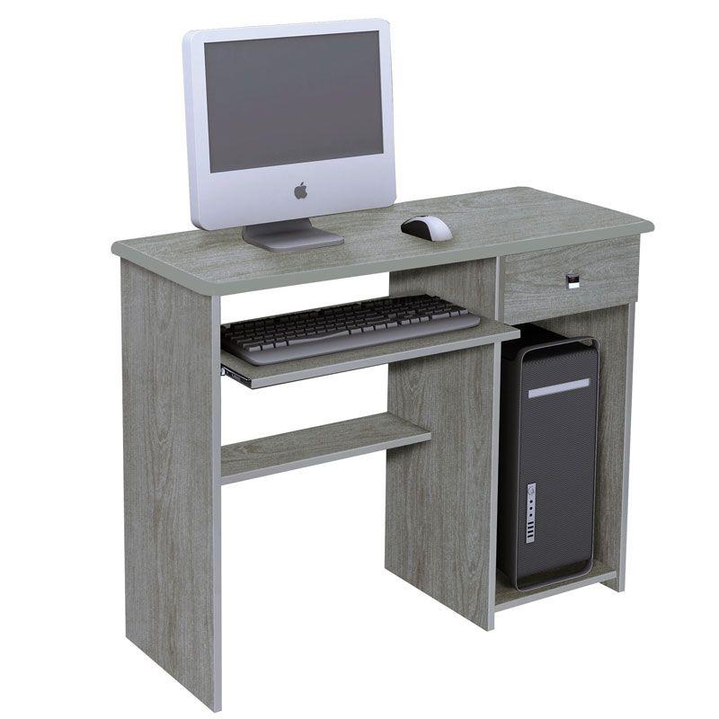 Mesa para computador bali m veis elo carvalho bianco for Muebles para computador de mesa